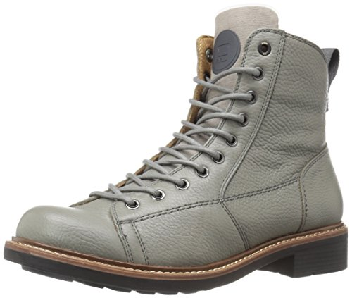 G-Star Raw Men's Roofer Boot Ankle Bootie, Medium Grey, 42 (G-star Leather)