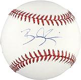 : Bradley Zimmer Cleveland Indians Autographed Baseball - Fanatics Authentic Certified - Autographed Baseballs