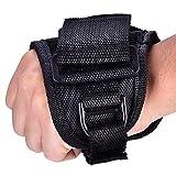 Diving Flashlight Glove, Adjustable Durable Diving Light Flashlight Arm Strap Hand Mount for Diving Lights