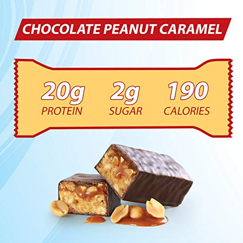 Chocolate Peanut Caramel Nougatine Dunmore Candy Kitchen: Pure Protein Bars, Healthy Low Carb Snacks, Chocolate