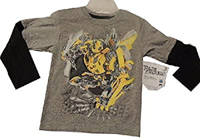 Transformers Bumble Bee T-shirt Tshirt Tee Size 5/6 Medium