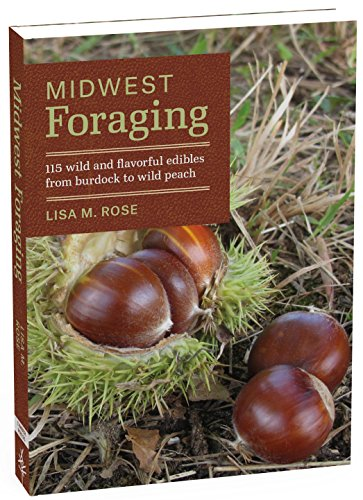 Midwest Foraging: 115 Wild and Flavorful Edibles from Burdock to Wild Peach (Regional Foraging Series) (Native Plants Of Wisconsin)