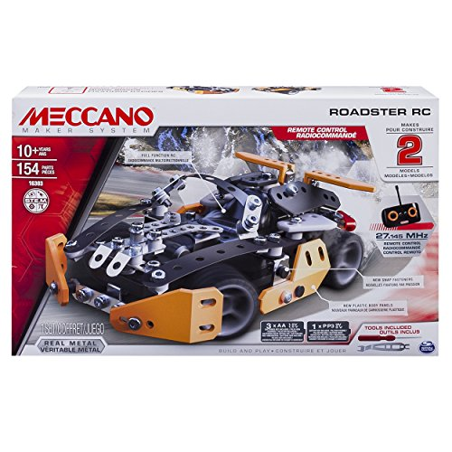 Meccano Erector Roadster RC Mode...