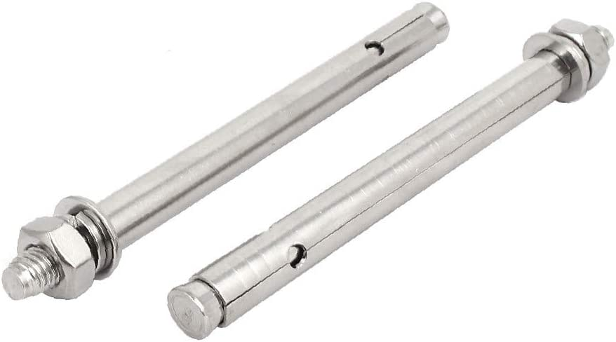 8bcca5cf36e7c7cd6ad859b7a038aff8 X-Dr M10x150mm 304 Stainless Steel Air Condition Fitting Sleeve Anchor Expansion Bolt 2pcs