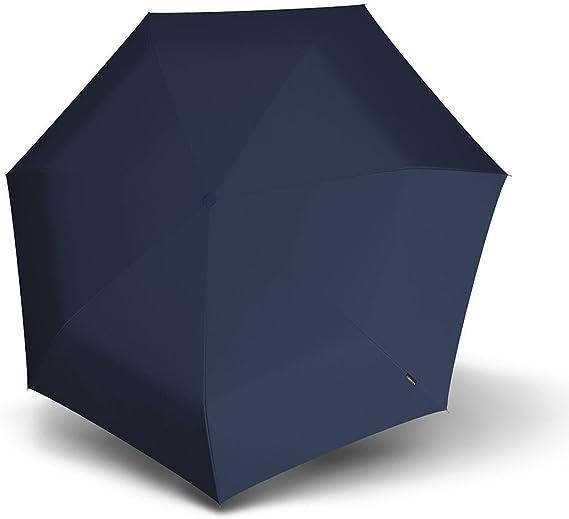 Knirps Active Line Piccolo Blau Regenschirm Taschenschirm Rot