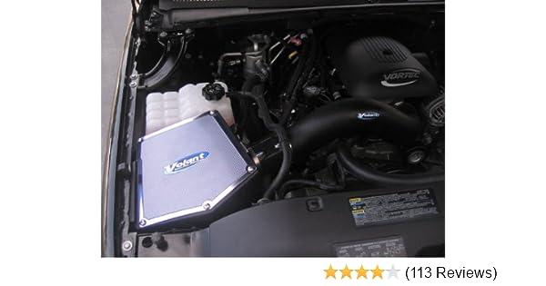 WB 99-07 CHEVY//GMC//CADILLAC TRUCK//SUV 4.8 5.3L 6.0L COLD AIR INTAKE BLUE RED+K/&N