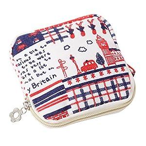 ShungHO Cute Sanitary Napkin Bag Women Zipper Coin Purse Sanitary Pad Napkin Towel Convenience Bags Reusable Bag