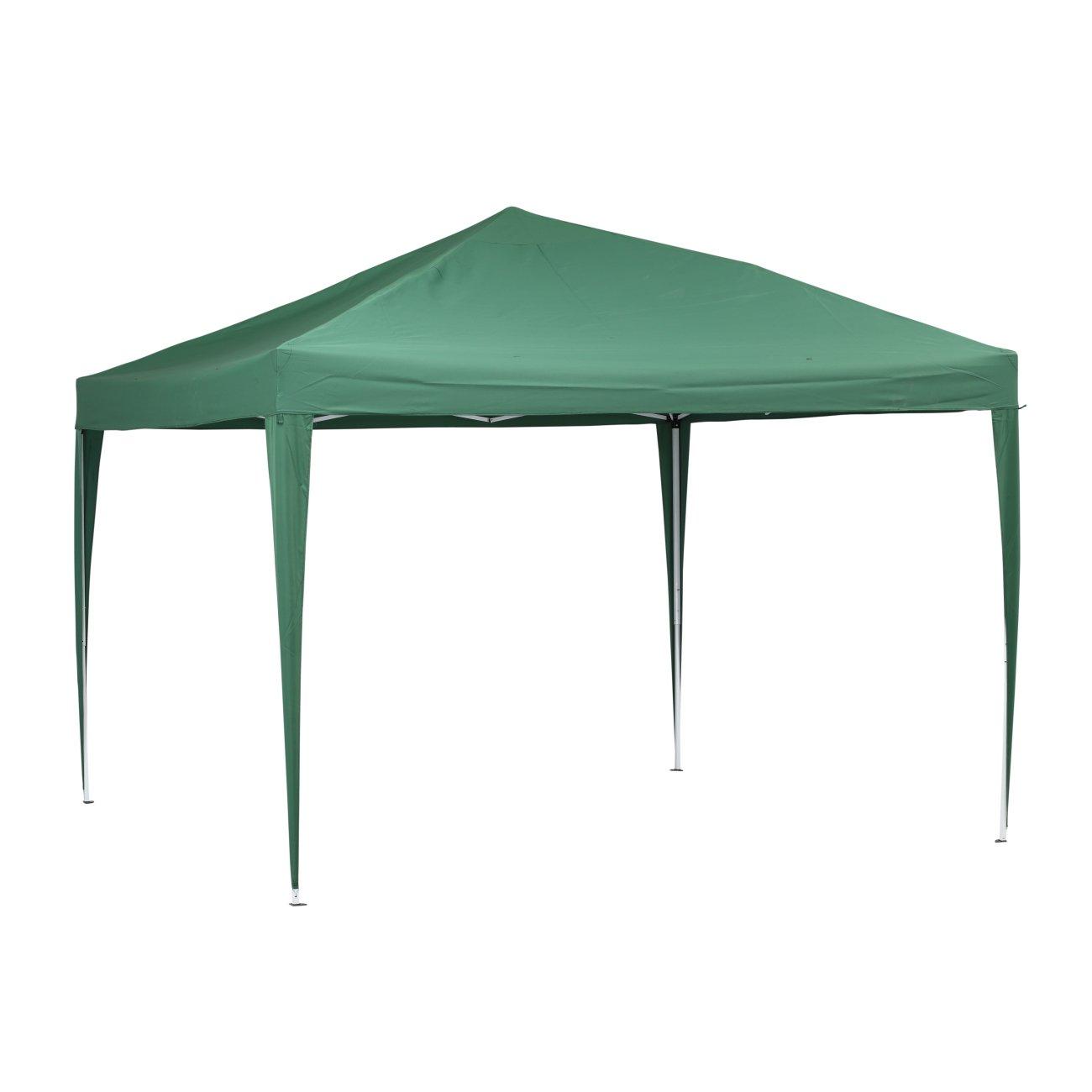 Grün gardern 10 x 10 Füße Pop-Up Canopy Zelt W/Carring Case Outdoor ...