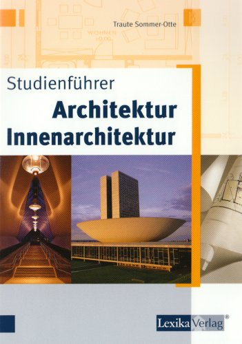 Studienführer Architektur – Innenarchitektur