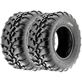 SunF All Terrain ATV UTV Sport Tires 25x11-10 25x11x10 6 PR A010 (Set pair of 2)