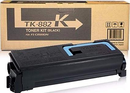 KYOCERA TK-882K - Tóner para impresoras láser (25000 páginas ...