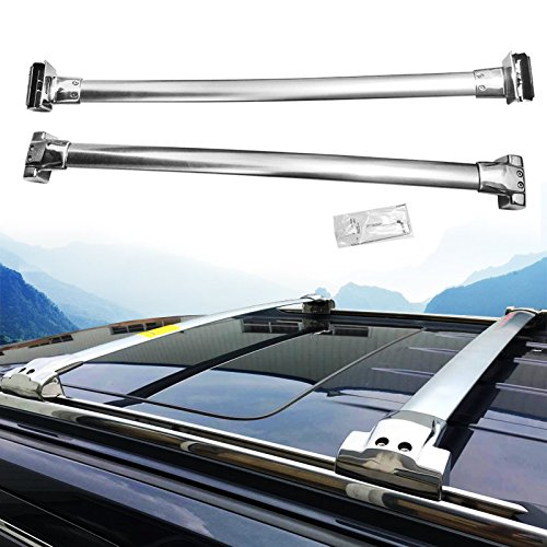 (Stainless Steel Cross bar Fit For JEEP Grand Cherokee 2011-2017 Roof Racks)
