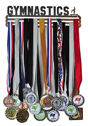 Gymnastics Medal Display - Gymnastics Medal Holder / Hanger - Stainless Steel - 3 Hang Bars