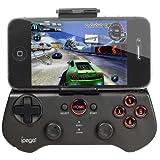 Techno S - Ipega Wireless Bluetooth Game Controller Joystick Keyboard Gamepad Iphone Android Samsung Motorola Htc, Black