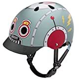 Nutcase - Little Nutty Street Bike Helmet, Fits Your Head, Suits Your Soul - Tin Robot