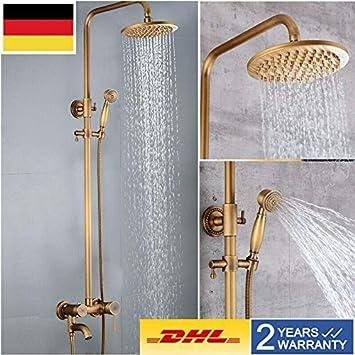 Sistema de ducha retro nostálgico YUNRUX – Columna de ducha con ...