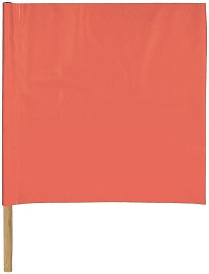 """18/"""" RK Safety Flag RKFLG1827 Standard Vinyl Highway Safety Traffic Warning Flag"""
