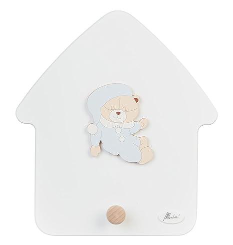 Casa Perchero oso Mimi Celeste: Amazon.es: Bebé