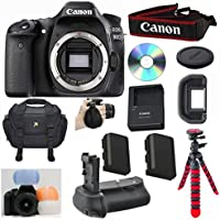 Canon EOS 80D Digital SLR Camera Body Bundle Advantages Review Image
