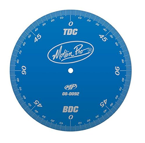 Motion Pro 08-0092 Anodized Blue Degree Wheel (Best Jap Cars To Modify)