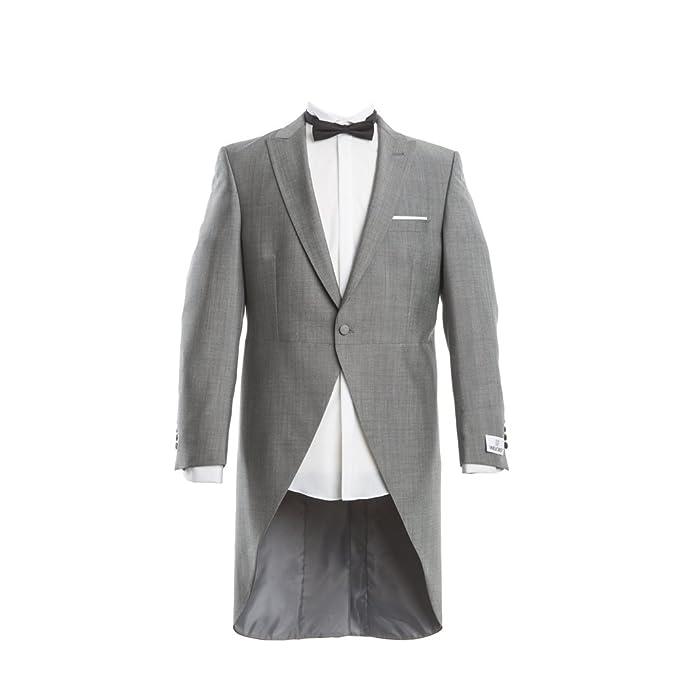 Wilvorst Traje de boda - Básico - Hombre gris claro 50 ...