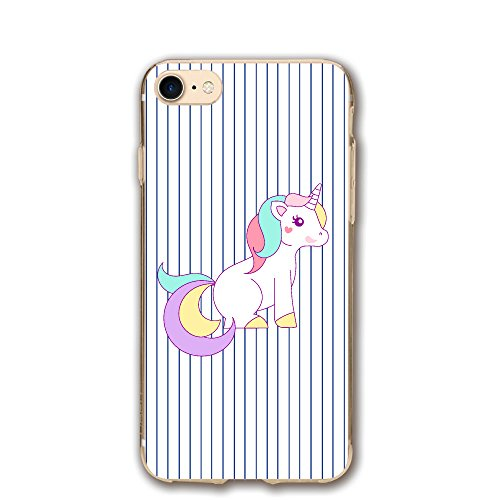 - Case For Iphone 7 Free Unicorn Clipart Slim Fit Shell Full Protective Anti-Scratch Resistant Cover Apple IPhone 7 Case