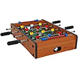 Sunnydaze 20 Inch Tabletop Foosball Table, Mini Sports Arcade Soccer for Game Room, Accessories Included