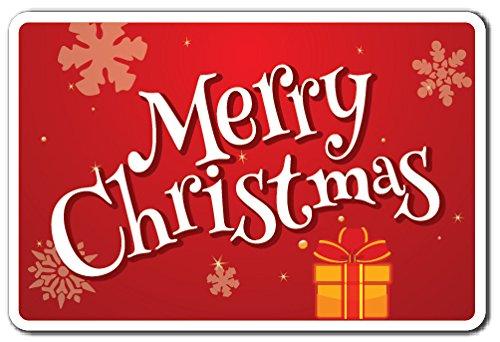 MERRY CHRISTMAS Sign christmas holiday season greeting | Indoor/Outdoor | 12