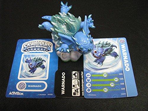 new SKYLANDERS figure WARNADO spyros ADVENTURE loose CARD sticker UNUSED CODE