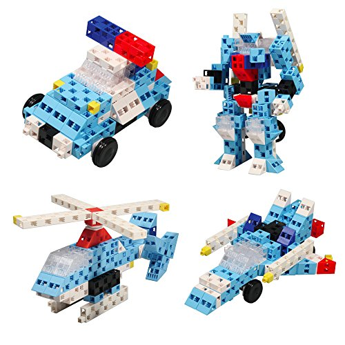 Best Building Toys For Boys : Click a brick toys rescue squad pc building block set