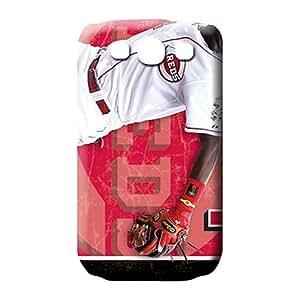 samsung galaxy s3 Protection Designed High Grade Cases mobile phone skins cincinnati reds mlb baseball