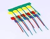 Mini Skater 100Pcs Nylon Cable Marker Ties Self