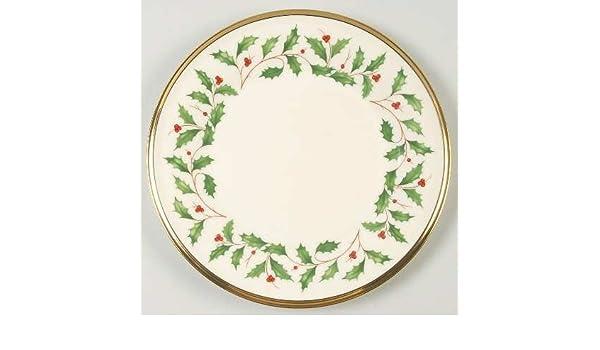Lenox Holiday Dimension Fine China Dinnerware Salad Plate