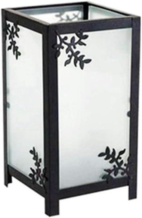 Hacoly Lot de 2 bougeoirs en Fer Vintage pour d/écoration de Table de Mariage Style europ/éen Blanc