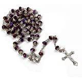 The Cross Rosary Crystal Beads Necklace By Roman Catholic Church Ecclesia Catholica
