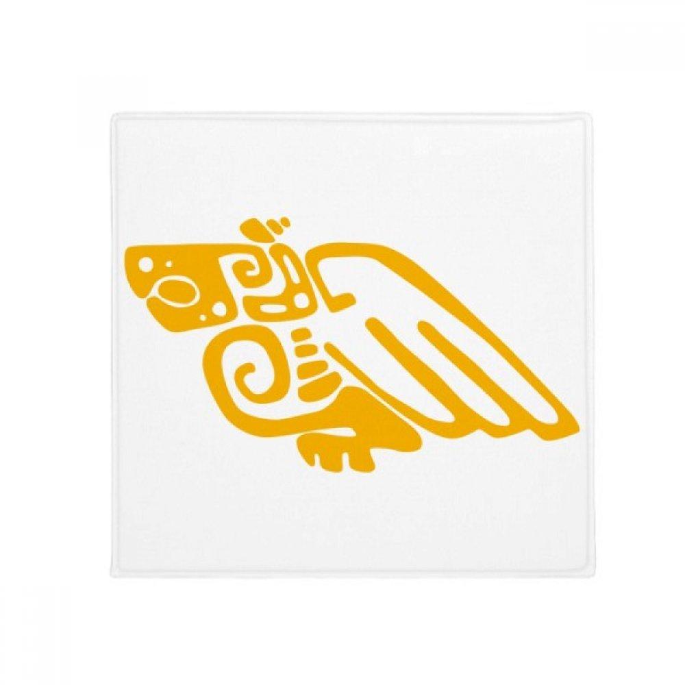 DIYthinker Mexico Totems Mexican Eagle Ancient Civilization Anti-Slip Floor Pet Mat Square Home Kitchen Door 80Cm Gift