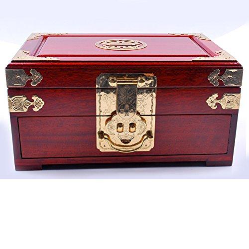 Brass Mahogany Dresser - 2