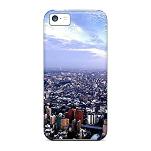 Fashionable Style Cases Covers Skin For Iphone 5c- City 14
