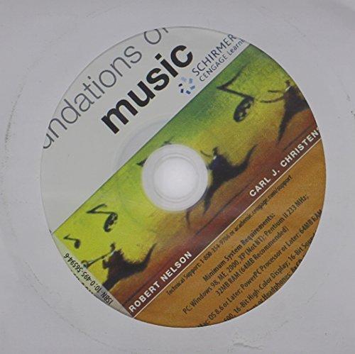 CD-ROM for Nelson/Christensen's Foundations of Music, 7th