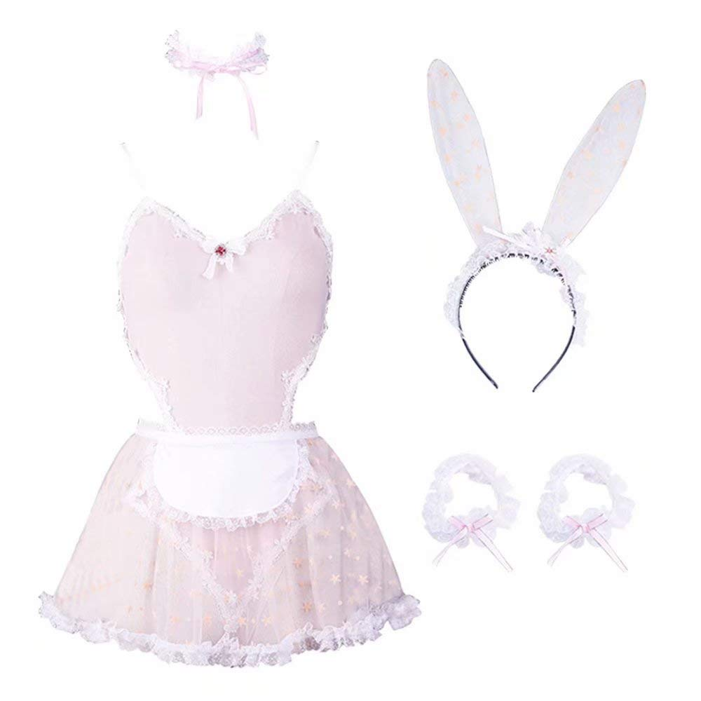 paloli Lace Women Bunny Maid Sets Cosplay Anime Costume - Fancy Lingerie Outfits by paloli