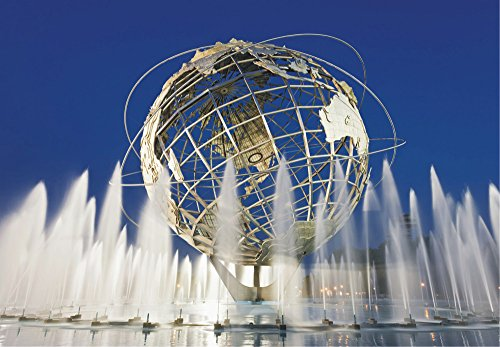 World's Fair Unisphere, Flushing, Queens, New York, NY, Earth, Souvenir Magnet 2 x 3 Fridge - Us Ny Flushing