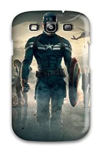 carlos d archuleta's Shop Unique Design Galaxy S3 Durable Tpu Case Cover Captain America The Winter Soldier Movie