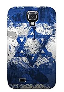 lintao diy For Galaxy S4 Fashion Design Flag Of Israel Case-EQricES2865iayLC / Cover Specially Made For Thanksgiving Day's Gift