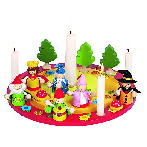 Goki Birthday Wreath Toy with Figure Set