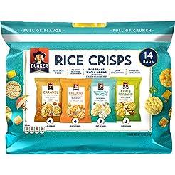 Quaker Rice Crisps Sweet & Savory Variet...