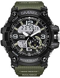Relógio Masculino Militar G-shock Smael Ws1617 Prova D'água