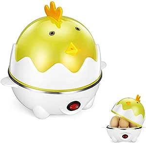 Mini hornillo de huevo para 1-7 huevos con luz indicadora de ...