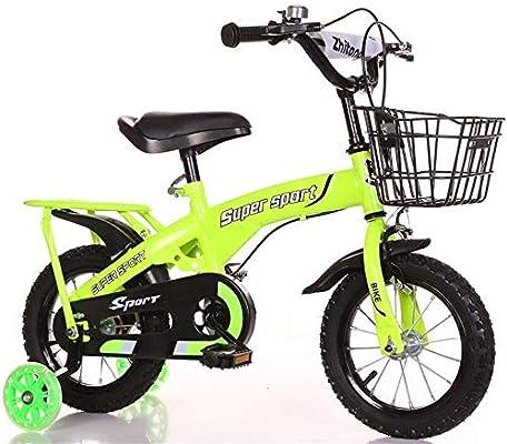 K-G Bicicleta Infantil Niños Bicicleta de Entrenamiento de la Bici ...
