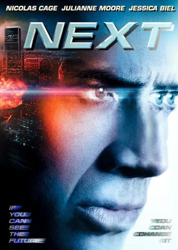 Next Broadsheet Movie B 27x40 Nicolas Cage Julianne Moore Nicolas Pajon