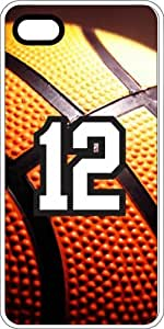 Basketball Sports Fan Player Number 11 Clear Rubber Decorative iPhone 4/4s Case